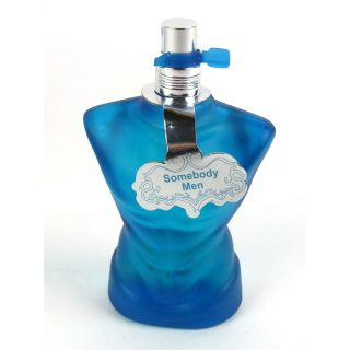 Blue Dreams Somebody Herren Parfum eau de toilette Männertorso Flakon 100 ml