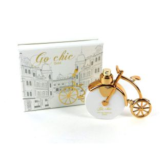Tiverton Go Chic gold Damen Parfum eau de parfum 25 ml altes Fahrrad
