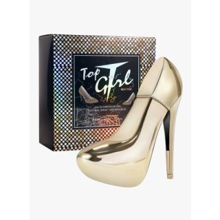 Tiverton Top Girl New York Eau de Parfum Damenduft Parfüm Highheel Gold 100 ml