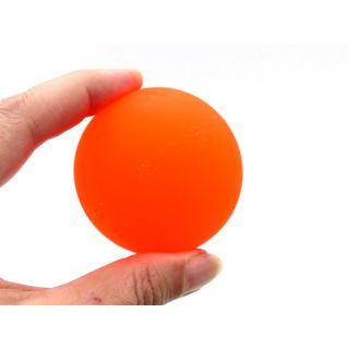 3x XL Neon Flummi 60mm Mitgebsel Kinder Gummi Ball Springball orange, pink, gelb
