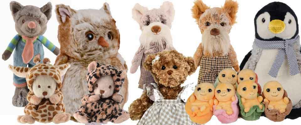 Barbara Bukowsi Teddybären und Plüschtiere