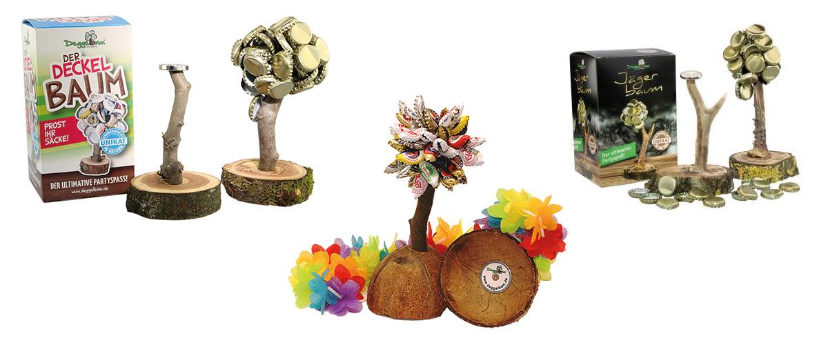 Deggelbam: Der Kronkorkenbaum mit Fun